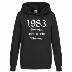 Толстовка жіноча 1983 Born to win