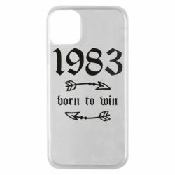 Чохол для iPhone 11 Pro 1983 Born to win