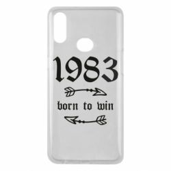 Чохол для Samsung A10s 1983 Born to win