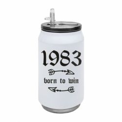 Термобанка 350ml 1983 Born to win