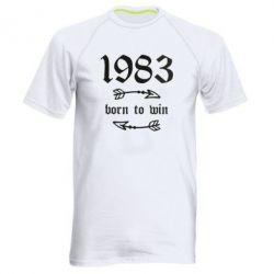 Чоловіча спортивна футболка 1983 Born to win