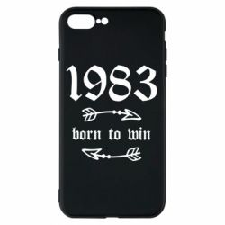 Чохол для iPhone 8 Plus 1983 Born to win