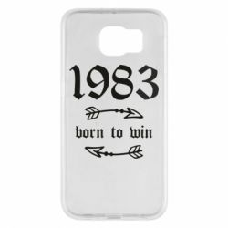 Чохол для Samsung S6 1983 Born to win