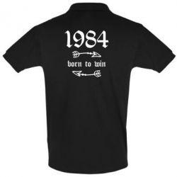 Футболка Поло 1984 Born to win