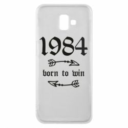 Чохол для Samsung J6 Plus 2018 1984 Born to win
