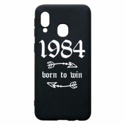 Чохол для Samsung A40 1984 Born to win