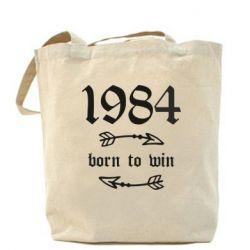 Сумка 1984 Born to win