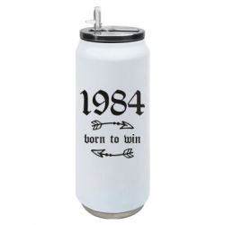 Термобанка 500ml 1984 Born to win