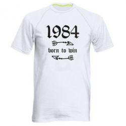 Чоловіча спортивна футболка 1984 Born to win