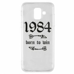 Чохол для Samsung A6 2018 1984 Born to win