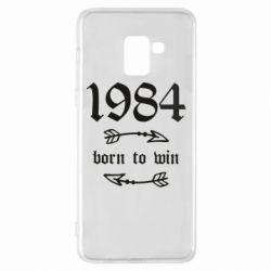 Чохол для Samsung A8+ 2018 1984 Born to win