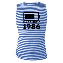 Майка-тельняшка 1986 - FatLine