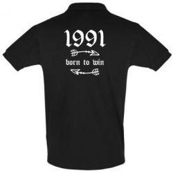 Футболка Поло 1991 Born to win