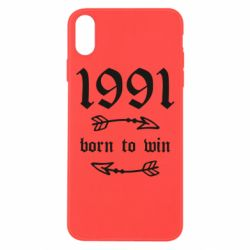 Чохол для iPhone Xs Max 1991 Born to win