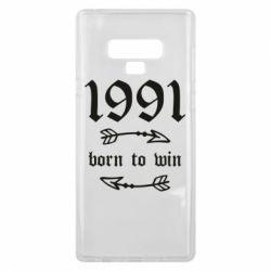 Чохол для Samsung Note 9 1991 Born to win