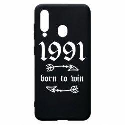 Чохол для Samsung A60 1991 Born to win