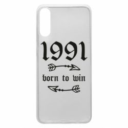 Чохол для Samsung A70 1991 Born to win