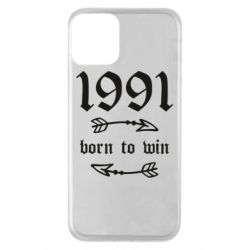 Чохол для iPhone 11 1991 Born to win