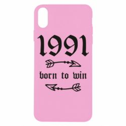 Чохол для iPhone X/Xs 1991 Born to win