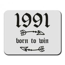 Килимок для миші 1991 Born to win