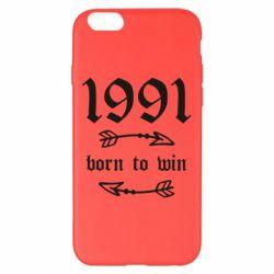 Чохол для iPhone 6 Plus/6S Plus 1991 Born to win