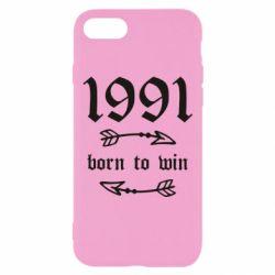 Чохол для iPhone 7 1991 Born to win