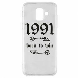 Чохол для Samsung A6 2018 1991 Born to win