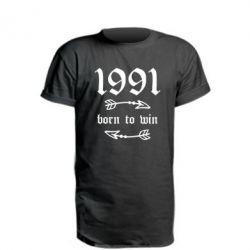 Подовжена футболка 1991 Born to win