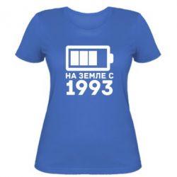 Женская футболка 1993 - FatLine