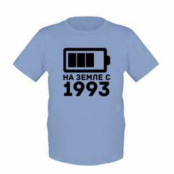 Детская футболка 1993 - FatLine