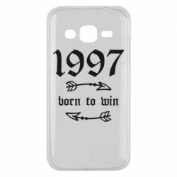 Чохол для Samsung J2 2015 1997 Born to win