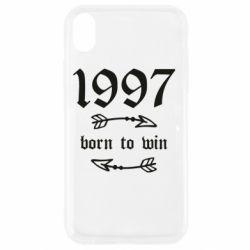 Чохол для iPhone XR 1997 Born to win
