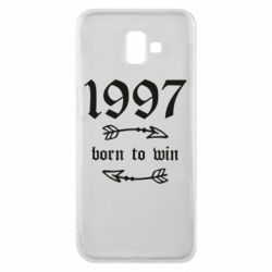 Чохол для Samsung J6 Plus 2018 1997 Born to win