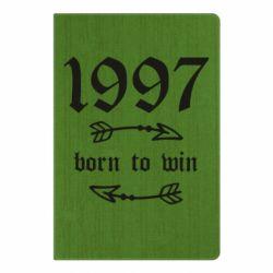 Блокнот А5 1997 Born to win