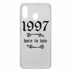 Чохол для Samsung A30 1997 Born to win