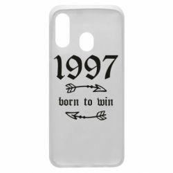 Чохол для Samsung A40 1997 Born to win