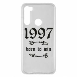 Чехол для Xiaomi Redmi Note 8 1997 Born to win