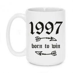 Кружка 420ml 1997 Born to win