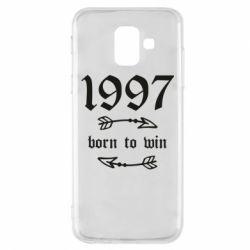 Чохол для Samsung A6 2018 1997 Born to win