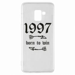 Чохол для Samsung A8+ 2018 1997 Born to win
