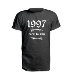 Подовжена футболка 1997 Born to win
