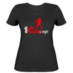 Женская футболка 1Cupergirl