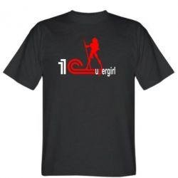 Мужская футболка 1Cupergirl - FatLine