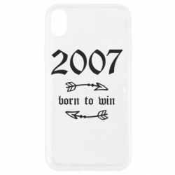 Чехол для iPhone XR 2007 Born to win