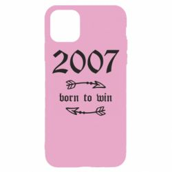 Чехол для iPhone 11 2007 Born to win