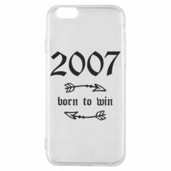 Чехол для iPhone 6/6S 2007 Born to win