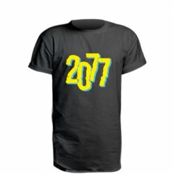 Подовжена футболка 2077 Cyberpunk