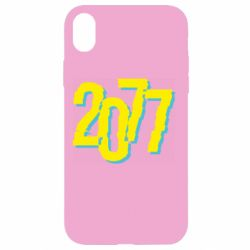 Чохол для iPhone XR 2077 Cyberpunk