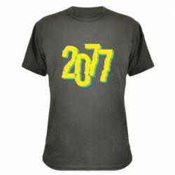 Камуфляжна футболка 2077 Cyberpunk