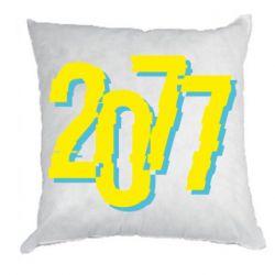 Подушка 2077 Cyberpunk
